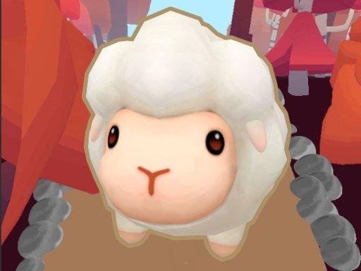 runner sheep