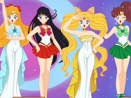 Sailor Moon Character Creator