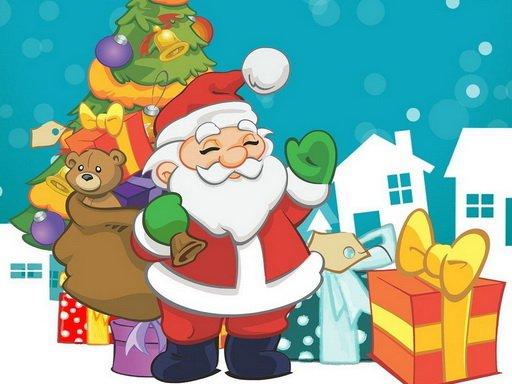 Santa Claus New Years Eve