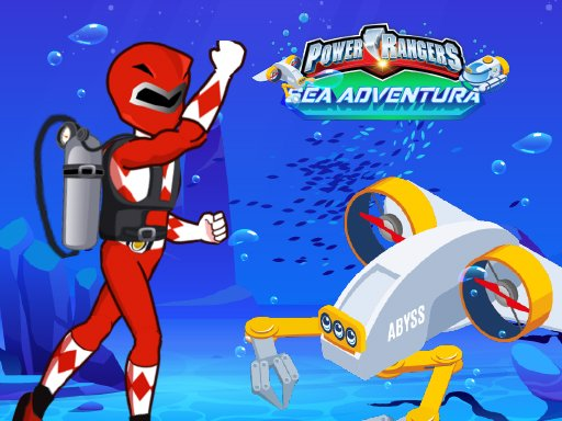 Save Power Rangers From Ocean Zombies  Pin Pull