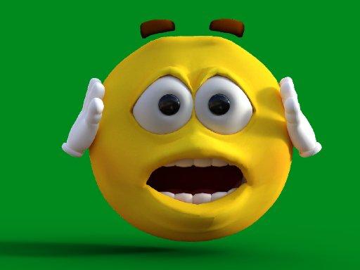 Smiley Face Emoji Jigsaw