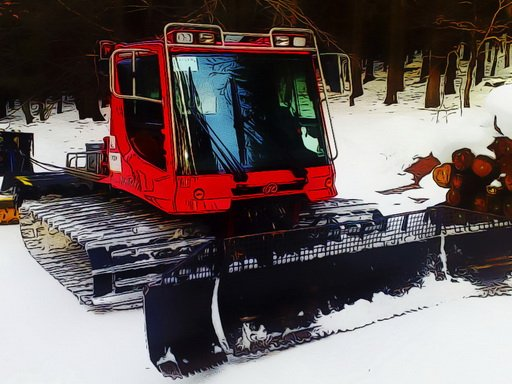 Snow Groomer Vehicles
