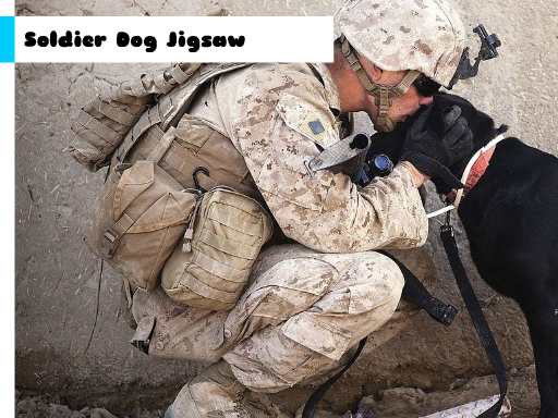 Soldier Dog Jigsaw