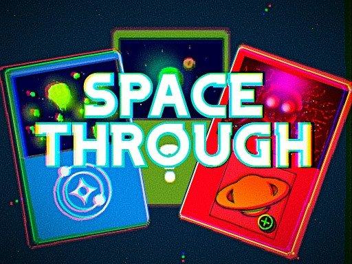 Space Through  Card Clicker Game