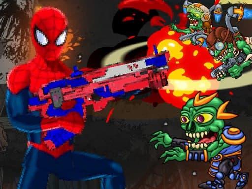 Spiderman Commander  Shooting Game