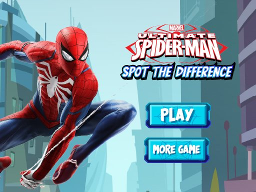 Spiderman Spot The Differences  Puzzle Game