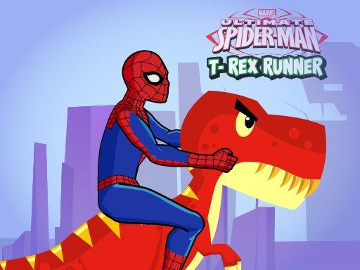 Spiderman TRex Runner