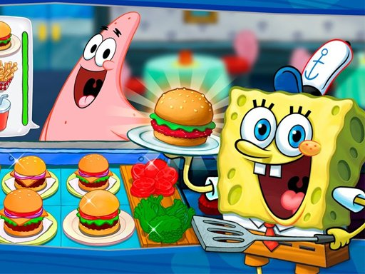 SpongeBob Cook : Restaurant Management  Food Game