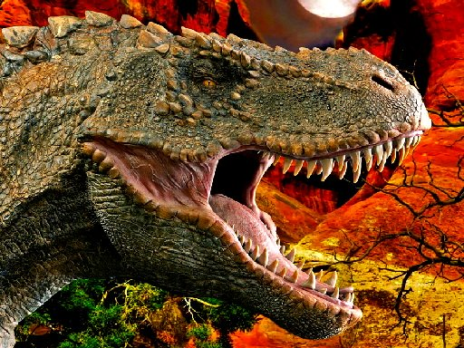 TRex Dinosaur Jigsaw