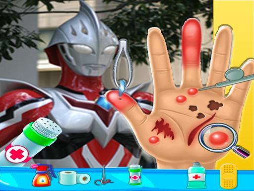 Ultraman Hand Doctor  Fun Games for Boys Online