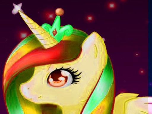 Unicorn Dress Up , Make Up  Girls Games