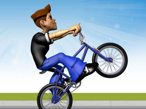 Wheelie Bike   BMX stunts wheelie bike riding