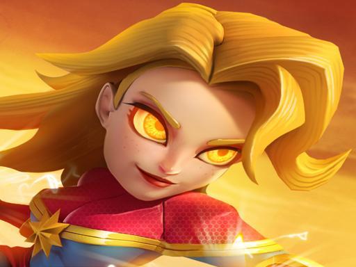 wonder woman of Superheroes  Empires Mobile