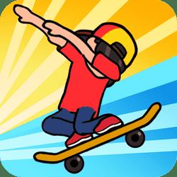 Skateboard Wheelie