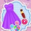 Barbies Pretty Lace Dress