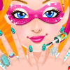 Super Barbies Manicure