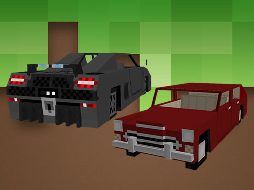 Blockcraft Cars Jigsaw