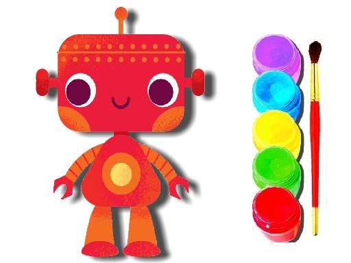 BTS Robot Coloring Book