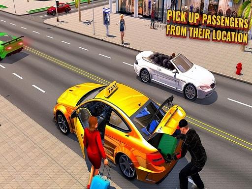 Crazy Taxi Game Off Road Taxi Simulator