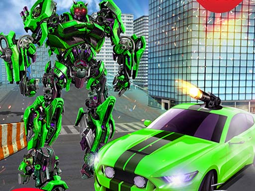 Grand Robot Car Transform 3D Game