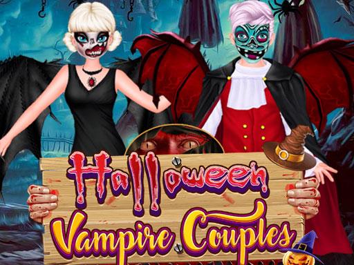 Halloween Vampire Couple