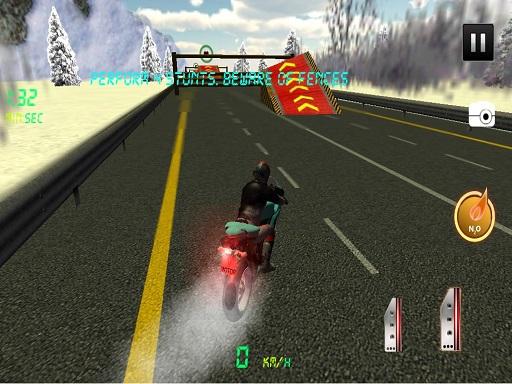 Highway Speedy Bike Racer : Highway Stunt Bike Rider