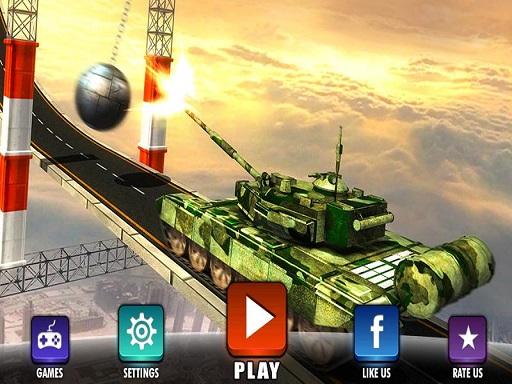 Impossible Army Tank Driving Simulator Tracks