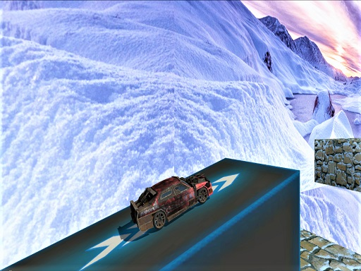 Impossible Car Stunt Driving Ramp Car Stunts 3D