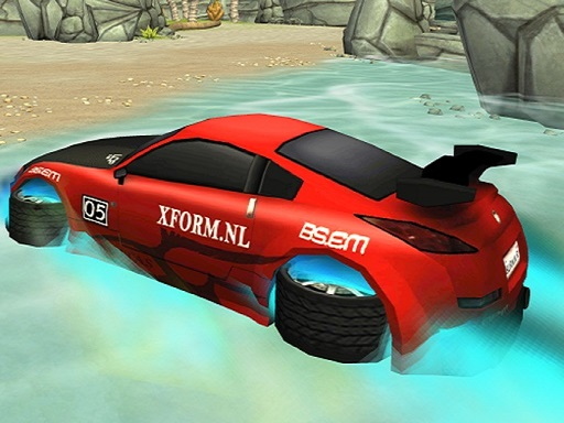 Incredible Water Surfing : Car Racing Game 3D