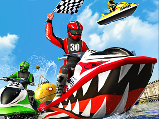 Jet Sky Water Boat Racing Game