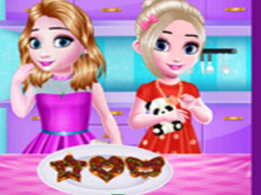 Little girls kitchen Time