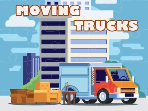 Moving Trucks Jigsaw