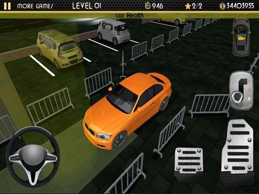 Night Car Parking Simulator