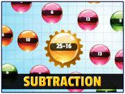 Orbiting Numbers Subtraction