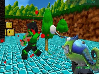 Paintball Fun: 3D pixel