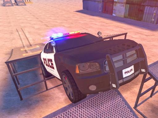 Police Drift  Stunt