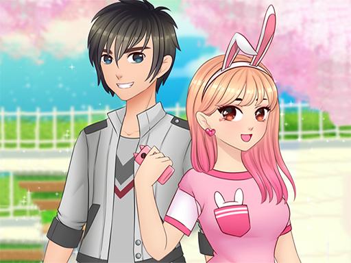 Romantic Anime Couples Dress Up