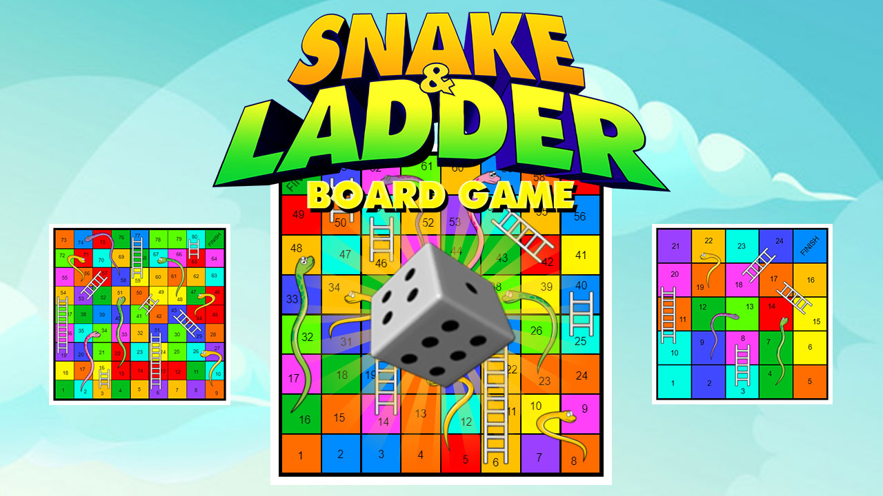 Snake and Ladder Board Game