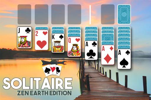 Solitaire : zen earth edition