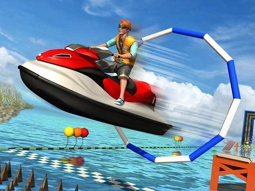Super Jet Ski Race Stunt : Water Boat Racing 2020