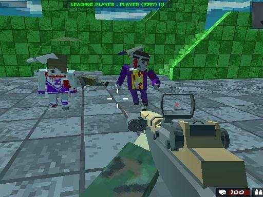 Survival Shooting Xtreme Crazy Pixel Combat