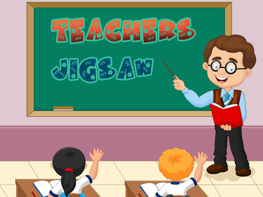 Teacher Jigsaw Game