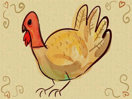 Thanks Giving Turkey Slide