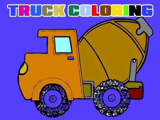 Trucks Coloring Book