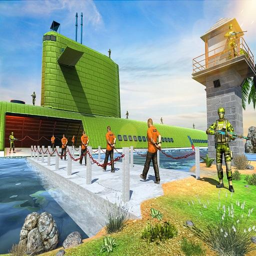 US Army Prisoner Transport Game 3D