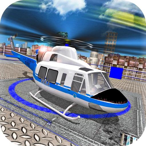 US President Escort Helicopter Parking