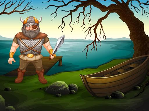 Viking Warrior Battle Jigsaw