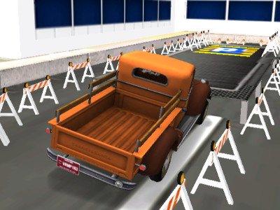 Warehouse Truck Parking