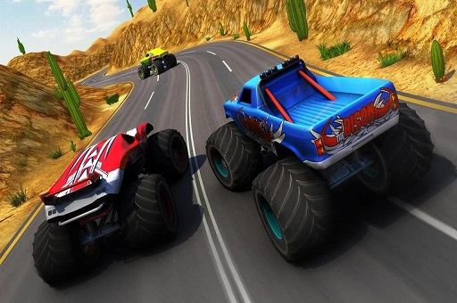 Xtreme Monster Truck  Offroad Fun Game
