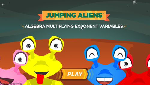 Jumping Aliens Exponents